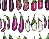 Het naadloze patroon van groenten Royalty-vrije Stock Fotografie