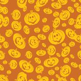 Het naadloze Patroon van Halloween Royalty-vrije Stock Fotografie