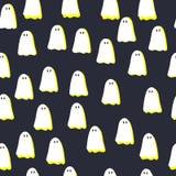 Het naadloze Patroon van Halloween Stock Afbeelding