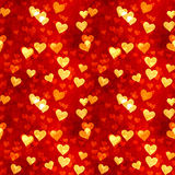 Het Naadloze Patroon van harten Stock Foto