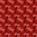 Het naadloze patroon van harten royalty-vrije illustratie