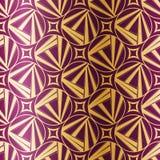 Het naadloze patroon van het art deco Royalty-vrije Stock Afbeeldingen