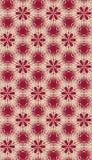 Het naadloze Patroon van het Behang Royalty-vrije Stock Afbeeldingen