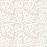 Het naadloze Patroon van het Behang vector illustratie