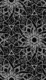 Het naadloze Patroon van het Behang Stock Afbeelding