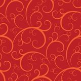 Het naadloze Patroon van het Behang royalty-vrije illustratie