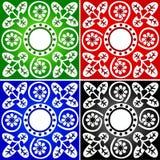 Het naadloze Patroon van het Behang - Vector stock illustratie
