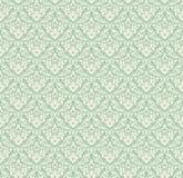 Het naadloze patroon van het damast Stock Foto