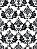 Het naadloze Patroon van het Damast Royalty-vrije Stock Fotografie