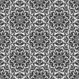Het naadloze patroon van het damast Oriënteer Achtergrond Stock Foto's