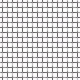 Het naadloze patroon van het draadnetwerk Stock Foto