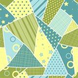 Het naadloze patroon van het flard. Vector Royalty-vrije Stock Foto