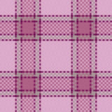 Het naadloze patroon van het geruite Schotse wollen stof vector illustratie