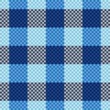Het naadloze patroon van het geruite Schotse wollen stof stock illustratie