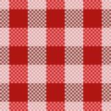 Het naadloze patroon van het geruite Schotse wollen stof Royalty-vrije Stock Afbeelding