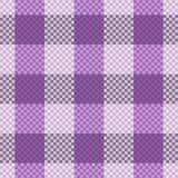 Het naadloze patroon van het geruite Schotse wollen stof Royalty-vrije Stock Foto's