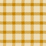 Het naadloze patroon van het geruite Schotse wollen stof royalty-vrije illustratie