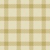 Het naadloze patroon van het geruite Schotse wollen stof Stock Foto