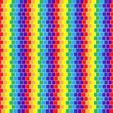 Het naadloze patroon van het mozaïek Royalty-vrije Stock Afbeelding