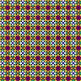 Het naadloze Patroon van het Mozaïek Stock Afbeeldingen