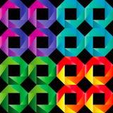 Het naadloze patroon van het mozaïek vector illustratie