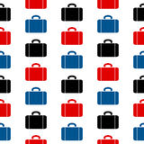 Het naadloze patroon van het portefeuillesymbool Royalty-vrije Stock Afbeeldingen