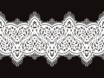 Het naadloze patroon van het kant Royalty-vrije Stock Afbeeldingen