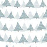 Het naadloze patroon van Kerstmis Stock Fotografie