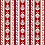 Het naadloze patroon van Kerstmis Royalty-vrije Stock Foto's