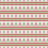 Het naadloze patroon van Kerstmis Het kan voor prestaties van het ontwerpwerk noodzakelijk zijn Royalty-vrije Stock Foto's
