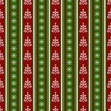 Het naadloze patroon van Kerstmis Het kan voor prestaties van het ontwerpwerk noodzakelijk zijn Royalty-vrije Stock Fotografie