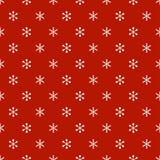 Het naadloze patroon van het Kerstmisnieuwjaar met sneeuwvlokken De achtergrond van de vakantie Sneeuwvlokken De in decoratie van royalty-vrije illustratie