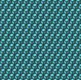 Het naadloze patroon van kubussen Stock Afbeeldingen