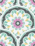 Het Naadloze Patroon van Mandala Stock Foto's