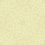 Het Naadloze Patroon van Mandala Vector Illustratie