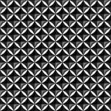 Het naadloze patroon van metaaldiamond mesh Royalty-vrije Stock Foto's