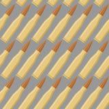 Het naadloze patroon van munitie Oorlogs bijkomende textuur Royalty-vrije Stock Afbeeldingen