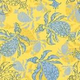 Het naadloze patroon van Paisley royalty-vrije illustratie