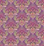 Het naadloze patroon van Paisley Stock Foto