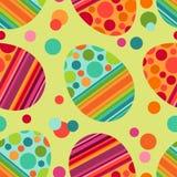 Het naadloze patroon van Pasen vector illustratie