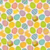 Het naadloze patroon van Pasen. vector illustratie