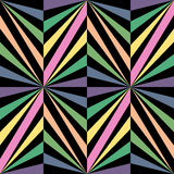 Het naadloze Patroon van Regenboogpoligonal Geometrische abstracte achtergrond Royalty-vrije Stock Foto's