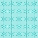 Het Naadloze Patroon van sneeuwvlokken Royalty-vrije Stock Afbeelding