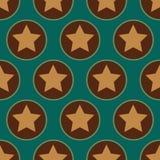 Het Naadloze Patroon van sterren Royalty-vrije Stock Fotografie