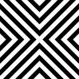 Het naadloze Patroon van Strepen Stock Afbeelding