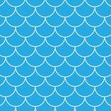 Het naadloze Patroon van Vissen Stock Foto's