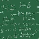 Het naadloze patroon van wiskunde Royalty-vrije Stock Afbeelding