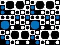 Het naadloze Psychedelische Patroon van Jaren '60 Stock Afbeelding