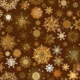 Het naadloze retro patroon van de Kerstmistextuur. EPS 8 Royalty-vrije Stock Foto