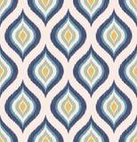 Het naadloze retro patroon van het ornamentbehang Stock Foto's